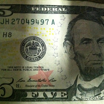 How odd is this? - US Paper Money