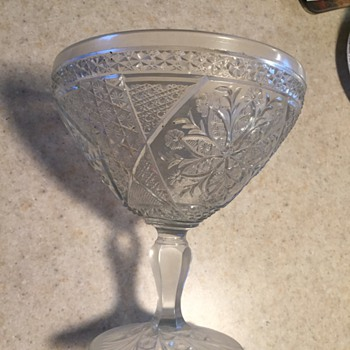 Antique Perserve Stand - Glassware