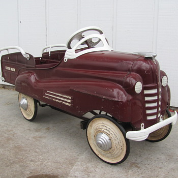 1940 Pontiac Station Wagon Pedal Car