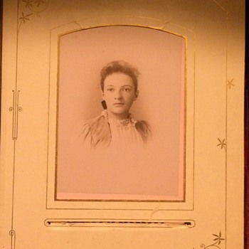 Part Two Of Antique Photo Album Patented 1882
