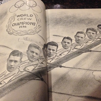 "University of Washington yearbook--""the Boys in the Boat"""