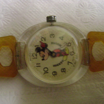 1970&#039;s ?? Bradley Mickey Mouse Watch - Wristwatches