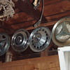 vintage hubcaps