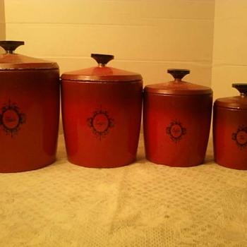 West Bend Canister Set!! - Kitchen