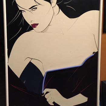 Rare Patrick Nagel Neon Playboy Portfolio II Poster - Posters and Prints