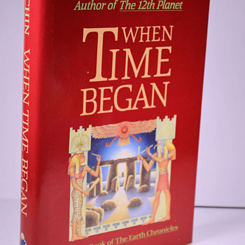 When Time Began by Zecharia Sitchin (hc) - Books