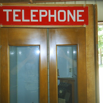 Western Electric Phone Booth
