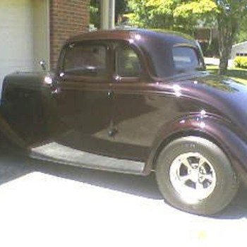 1934 ford all steel body