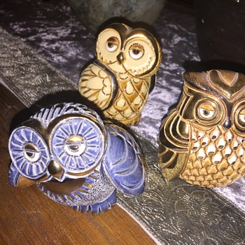 Artesania Riconada owls - Animals