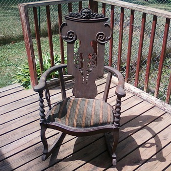 My antique rocker - Furniture