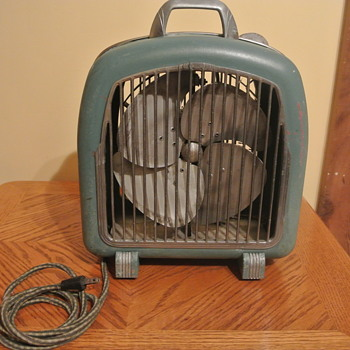 Comfortair Heater Fan ca. 1950 Posting for mcheconi - Office