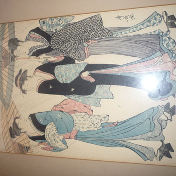 Another Japanese Woodblock print! - Asian