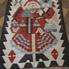 Turkish Rug Carpet SANTA CLAUS KILIM