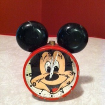 Mickey Mouse Alarm Clock - Clocks