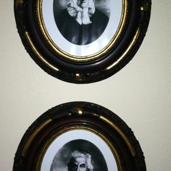 Victorian Gesso Frames - Photographs