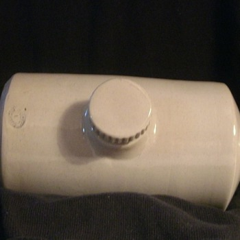 Pearson's Pottery of Chesterfield Foot Warmer - Art Pottery