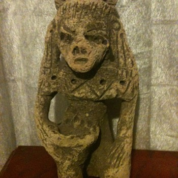 ancient mayan doll
