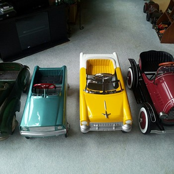 My growing Pedal Car collection  - Model Cars
