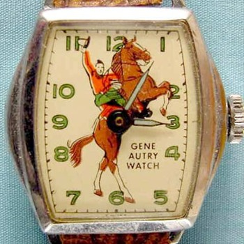 The First Series Gene Autry Wristwatch - Wristwatches