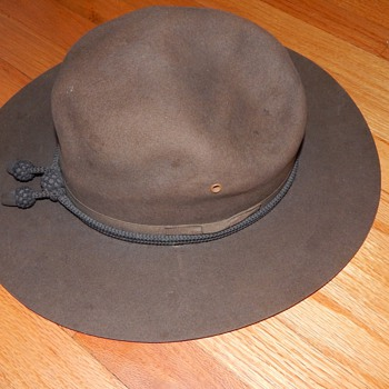 1900 Stetson Hat? - Military and Wartime