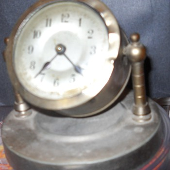 Antique Kuehl Co. Swivel Clock - Clocks