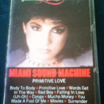 Miami Sound Machine Cassette Tape - Music