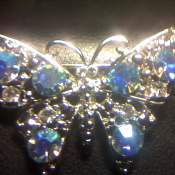 The Blue Butterfly - Costume Jewelry