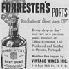 1950 Forrester&#039;s Ports Advertisement