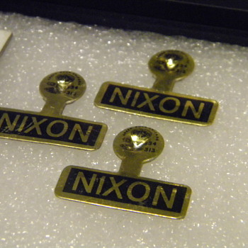 President Nixon Lapel Pins
