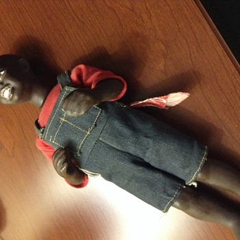 Black male doll