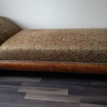 Newly re-done fainting couch