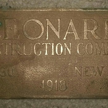 leonard construction - Signs