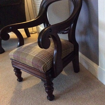 Victorian Childs Chair - Furniture