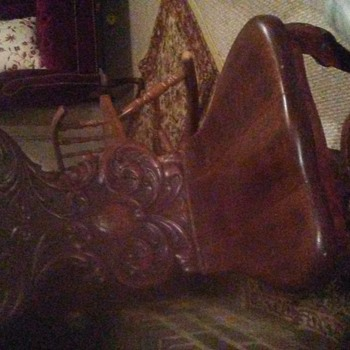 My favorite french carved chair