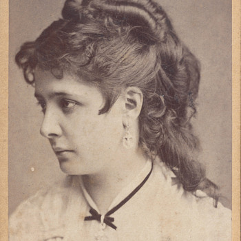 "Identified as ""Pollak""? CDV by Fritz Luckhardt - Photographs"