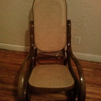Bentwood Old Rocking Chair - Furniture