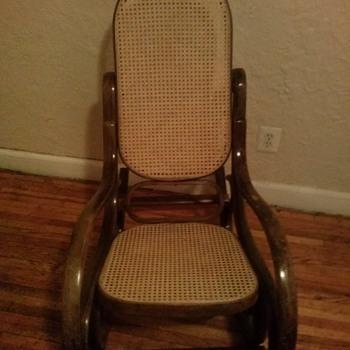 Bentwood Old Rocking Chair - Furniture