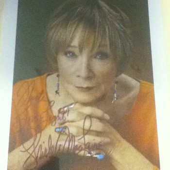 Shirley MacLaine Signed Still