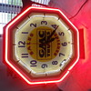 GMC Truck neon clock