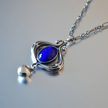 Georg Jensen Pendant of the Year (2013) Lapis Lazuli - Fine Jewelry