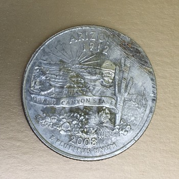 Arizona State Quarter Error