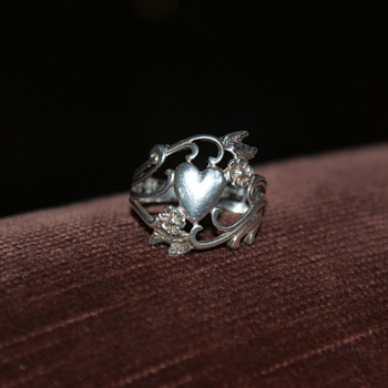 Sterling Ring Marked with a Copyright Mark and OTT - Fine Jewelry