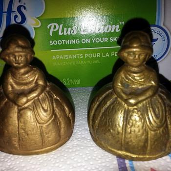 brass lady bells