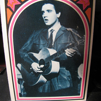 Elvis bubble gum cards
