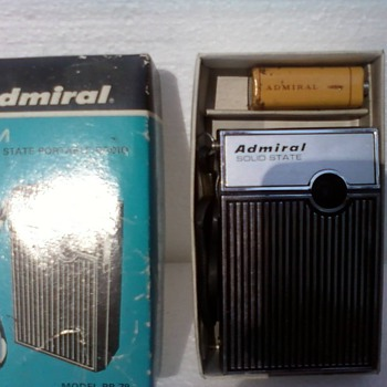 Admiral Pocket AM Radio - Radios