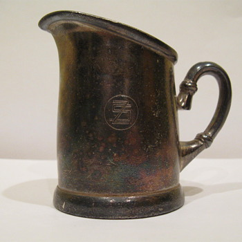 Silver Plated Gerofabriek Creamer