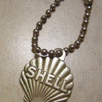 Shell Petroliana keychain