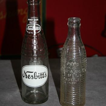 orange crush & nesbitt's bottles - Bottles