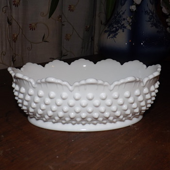 MORE MILK GLASS