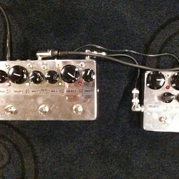 Echozcar & Angel Baby. Analog boutique pedal. - Guitars
